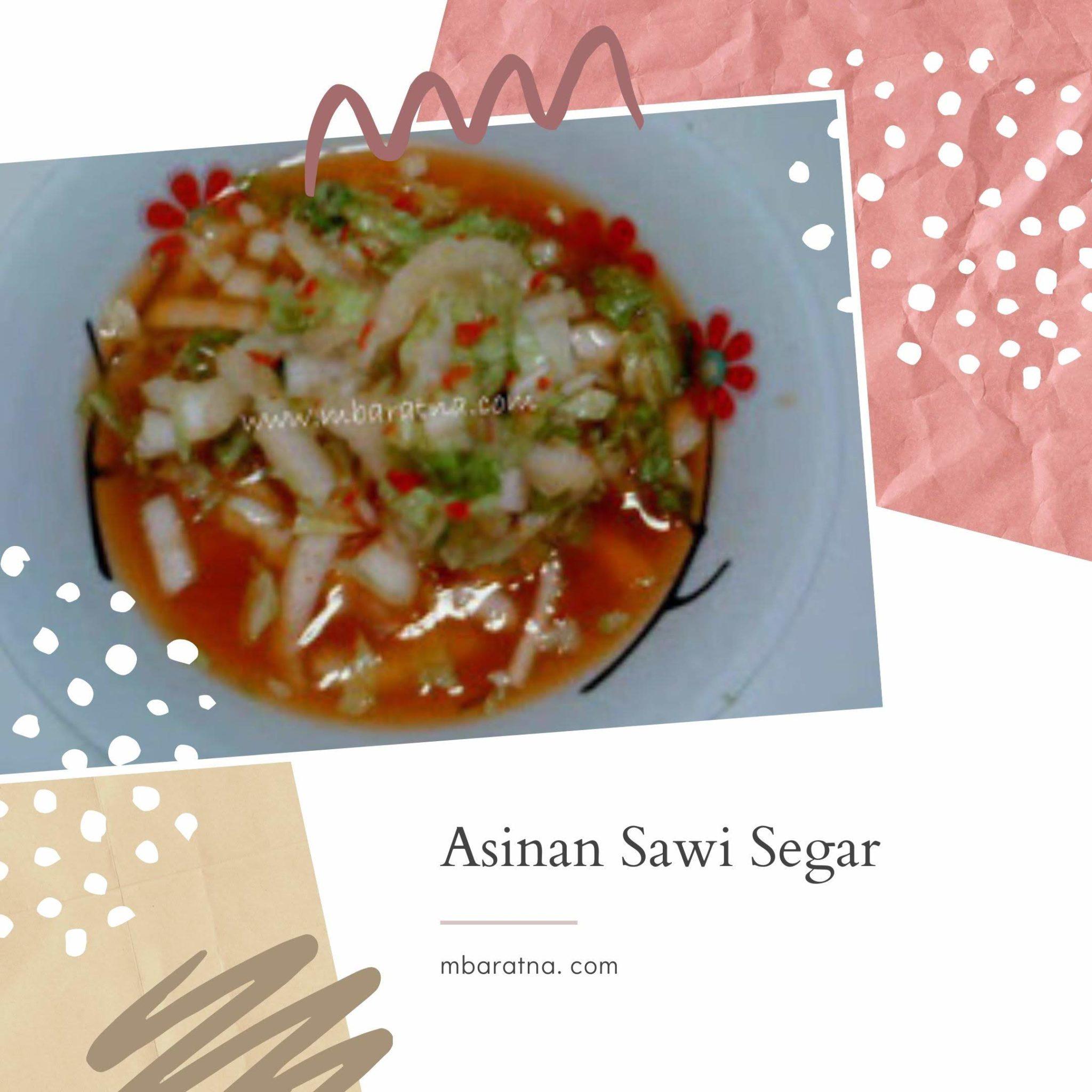 Asinan Sawi Segar