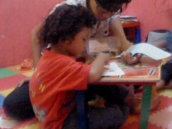 Hanum Usia 4 Tahun Saat Masih Sekolah Bimba