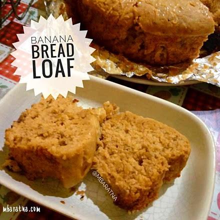 Banana Bread Loaf Yang Ga Kerasa Banana