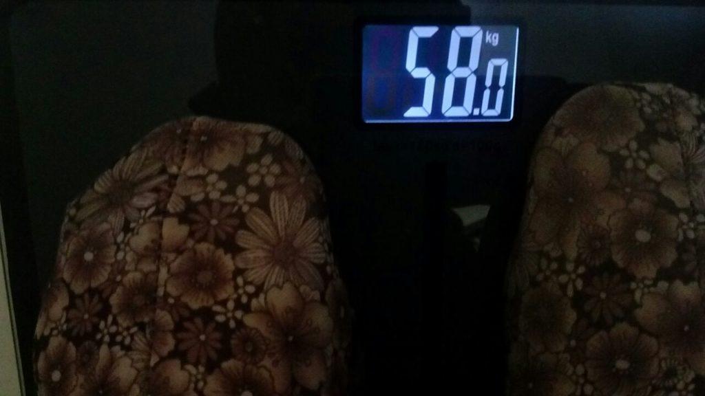 berat badan awal