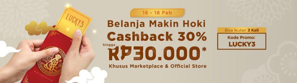 belanja online dapat cashback