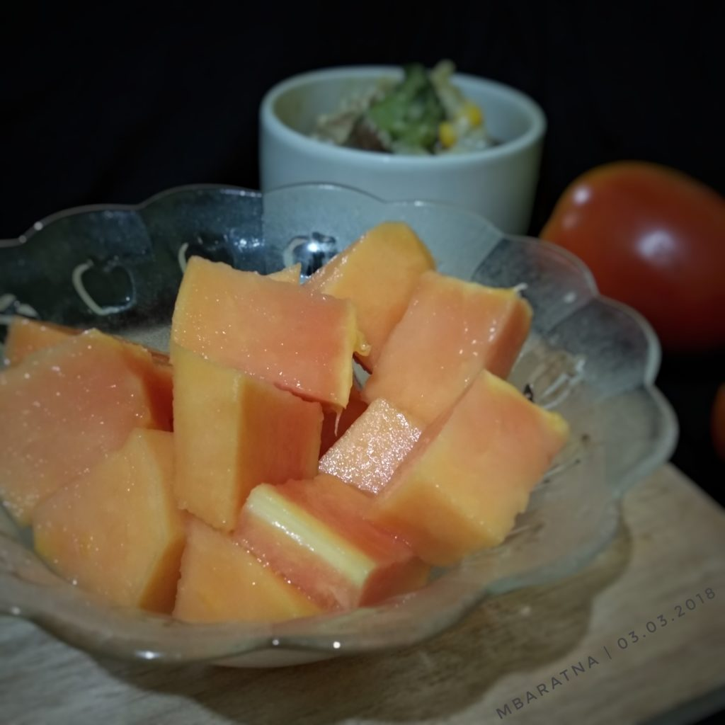buah potong