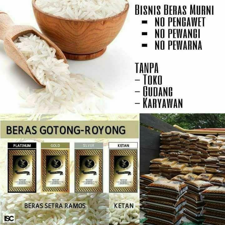 bisnis beras gotong royong