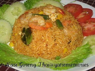 resep nasi goreng thai