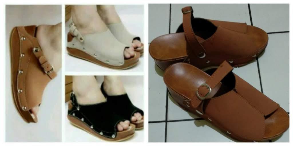 belanja online sepatu wedges