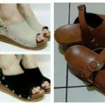 Suka Duka Belanja Online Sepatu Wedges di Marketplace