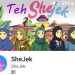 Shejek Aplikasi Ojek Online Khusus Muslimah