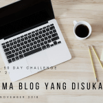 Day 2: Tema Blog Favorit Dunia Ratna