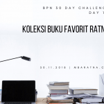 Day 11: Koleksi Buku Favorit Ratna