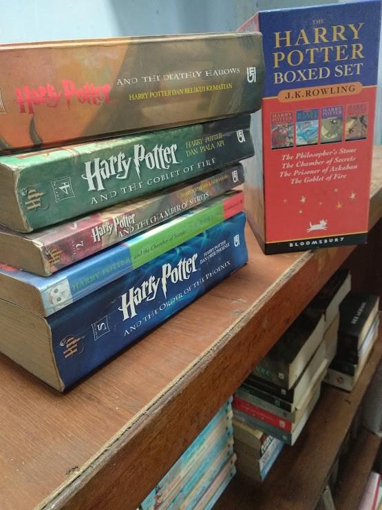 koleksi buku favorit