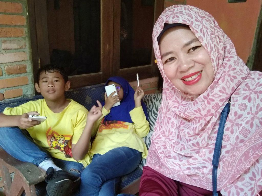 kebahagiaan sederhana bagi seorang ibu