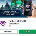 Hadiah Pulsa Gratis Dari Aplikasi Embee Meter CX