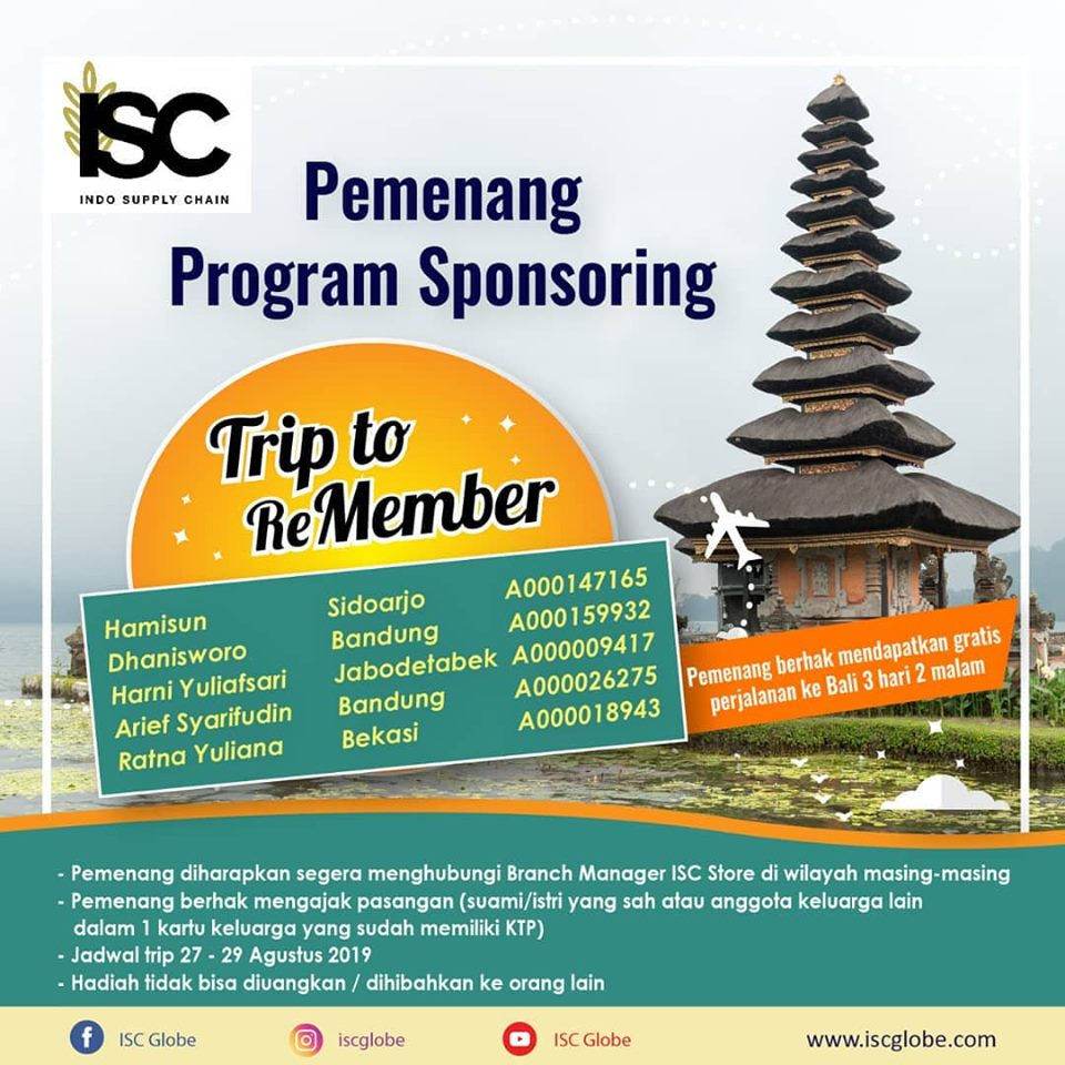 trip to remember isc
