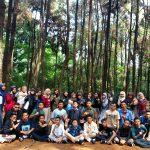 Foto BTS di Hutan Pinus Cibubur