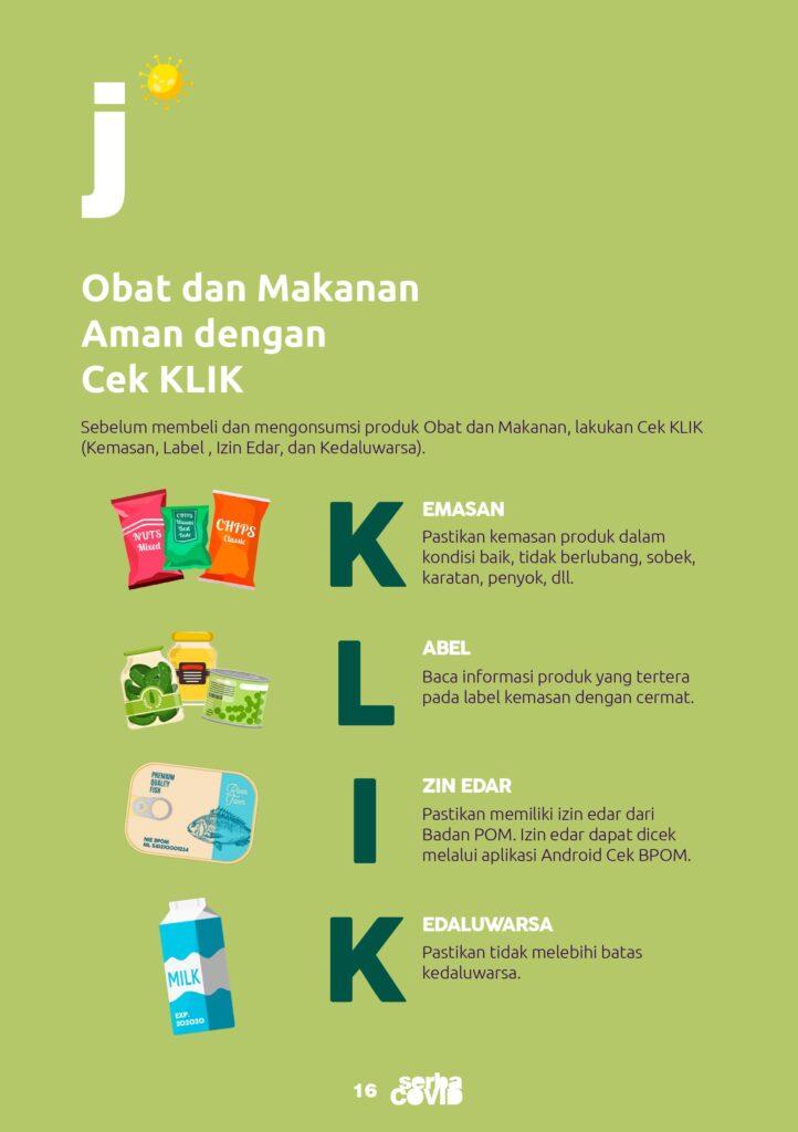 cek obat dan makanan