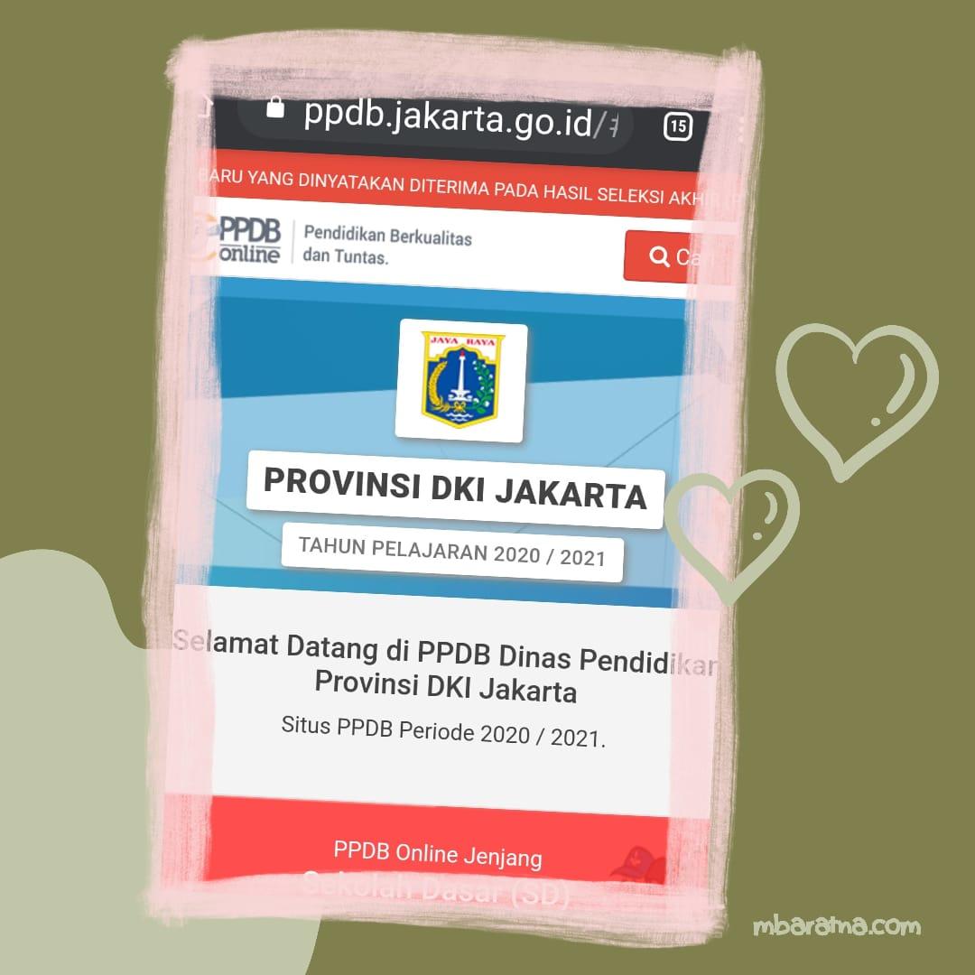 daftar ppdb jakarta 2020