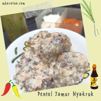 Resep Pentol Jamur Nyakruk