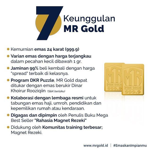 keunggulan emas mr gold